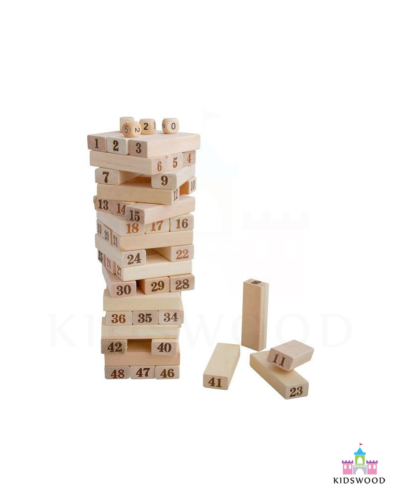 Wooden Toys Catalog : Jenga set pcs